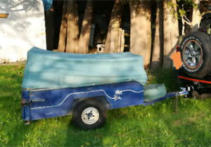 Utility trailer 3x5 feet.  7/8 hitch ball size.
