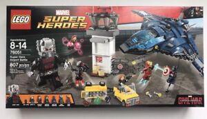 LEGO 76051 Super Hero Airport Battle (Marvel Civil War) - Brand New Sealed
