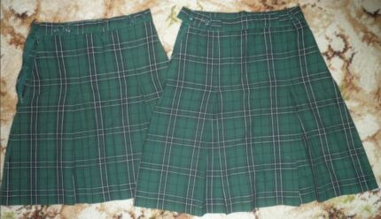 2x Skirts - Size 10 - st Vincent primary school uniform Worongary Gold Coast City Preview