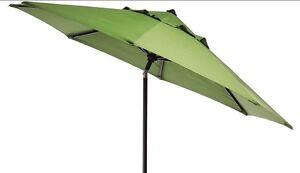 New 9' Foot Market Patio Umbrella Replacement Canopy Canvas Parrot Sunbrella