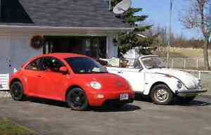 1979 and 1999 volkswagen beetle to trade