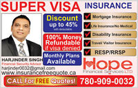 DISCOUNT SUPE VISA INSURANCE **BEST RATE**  GUARANTEE ( UP TO 45