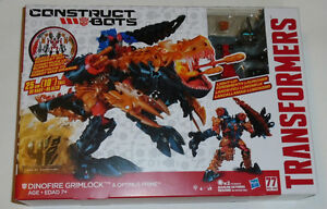 Transformers Age of Extinction Construct Bots Dinofire Grimlock