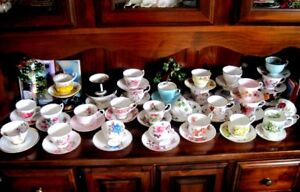 Bone China teacups made in England $10 each