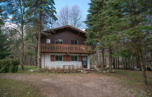 Chalet on nearly an acre of land