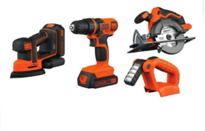 Black and decker 4 tool combo kit