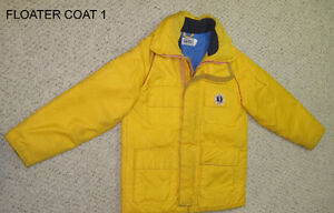 Floater coats and Cruiser suit