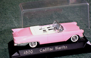 1957 Cadillac Biarritz convertible by Solido in 1/43 (o) scale