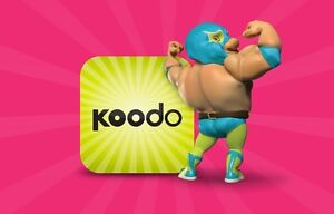 Exclusive Koodo Plans! $49 6GB LTE Unlimited Canada Talk/Text