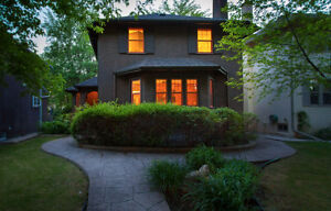 Character Home with ++upgrades, nicest basement in River Heights