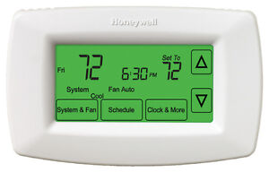 Honeywell 7-Day Programmable Thermostat (RTH7600D)