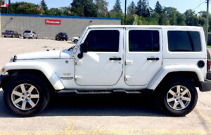 2012 Jeep Wrangler Sahara Unlimited SUV, Crossover
