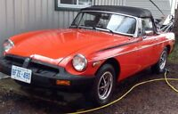 MINT 1980 MGB Must Be Sold