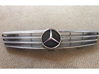 Mercedes Cls silver grill