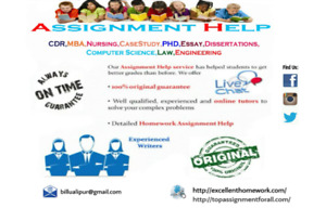 assignment help for masters, Bachelors, diploma, cert course etc
