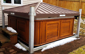 Arctic Spas Hot Tub with Covana cover