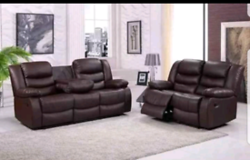2+3 Seater Reclining Sofas Set RRP: £1499.98, OUR PRICE £629