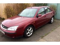 02 MONDEO. AUTOMATIC. FULL LEATHER. TOWBAR. MOT.