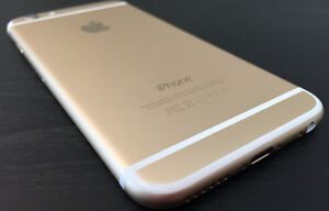 Iphone 6 Unlocked mint condition, Gold and White, 64GB