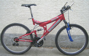 "Mongoose - Disturb-dual susp. with 26""tires"