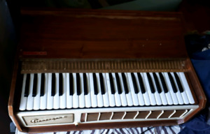 PianoOrgan II-by Farfisa brand (made in Italy) 1950s-$95