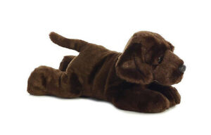 FLOPSIE MAX CHOCOLATE LAB 12'' AT TEDDY N ME
