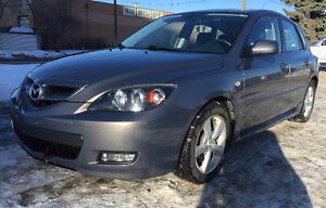 2007 Mazda Mazda3 Sport GT with 2 sets of Wheels/Tires. No GST