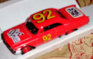 RCCA Legends Circle Track 1963 Ford Galaxie 500 Diecast 1/64th