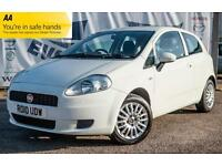 2010 FIAT GRANDE PUNTO 1.4 SOUND 3 DOOR BEST COLOUR LOW INSURANCE HATCHBACK PETR