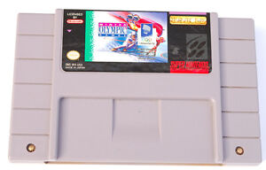 WINTER OLYMPICS LILLEHAMMER 94* RARE SNES GAME