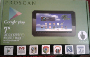 BNIB Proscan Android Tablet