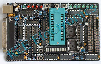 Kee Willem Eprom Programmer Pro Version Pcb Ver 5.5 Ship From Usa