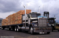 Experienced Class 1 Drivers Needed for Deck Loads