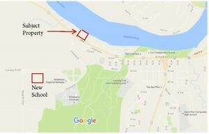 Athabasca commercial river property - prime location