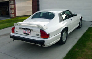 1990 XJS Jaguar V-12 Factory Ground Effects package & Spoiler