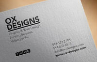 Graphisme: Logos, Cartes d'Affaires, Brochures, Etc.
