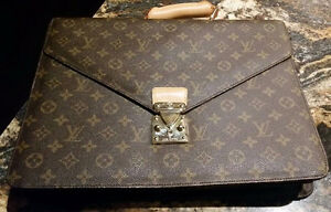 Authentic Numbered Lv Briefcase
