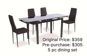 HOMETOWN FURNITURE- Pre-Purchase Dining Set up to 30% Off