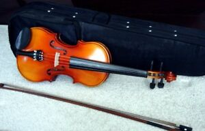 Violin Full Size By Heimer Complete With Case.