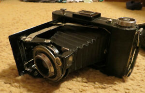 Old Kodak camera with case
