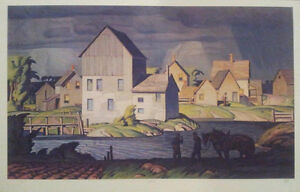 "Limited Edition ""Aftermath"" by A.J. Casson appraised at $5500"