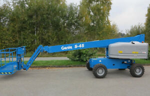 Genie S45 Man Boom Lift for sale. VERY LOW HOURS!!!