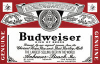 Wanted: Any items related to Budwieser or Jack Daniels.