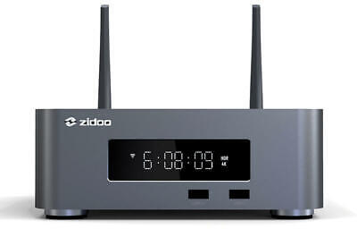 "Zidoo Z10 Pro 3.5"" HDD Dolby Vision VS10, HDR 10+ 4K Home Theatre Media Player"