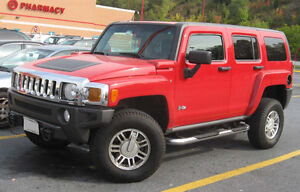 ****WANTED 2006 AND UP HUMMER H3 SUV,OR C5 CORVETTE
