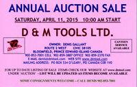 ANNUAL AUCTION SALE
