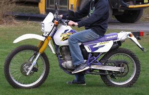 1998 Suzuki DR200 street and trail
