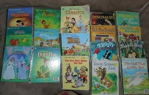 Lot of Old and Disney Little Golden Books.