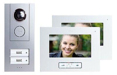 Vistus Video Türsprechanlage M-E, 2 Fam. Haus Set, !erweiterbar!, VD6720 - NEU!
