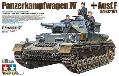 Tamiya 35374 Panzerkampfwagen IV Ausf. F - Sd.Kfz. 161 - 1:35